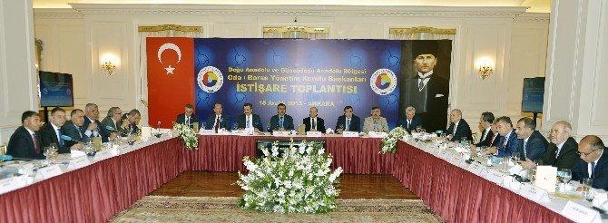 Başkan Uslu Bakanlarla İstişare Toplantısına Katıldı