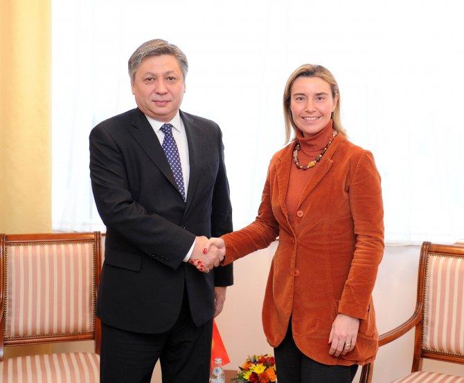 AB-Orta Asya Dışişleri Bakanları Toplantısı Astana'da yapıldı