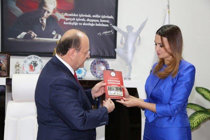 Azerbeycan Milletvekili Paşayeva'dan Başkan Özakcan'a Ziyaret
