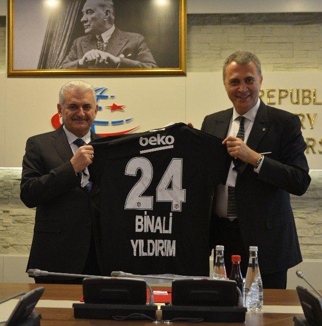 Beşiktaş Yönetiminden Bakan Yıldırım'a Ziyaret