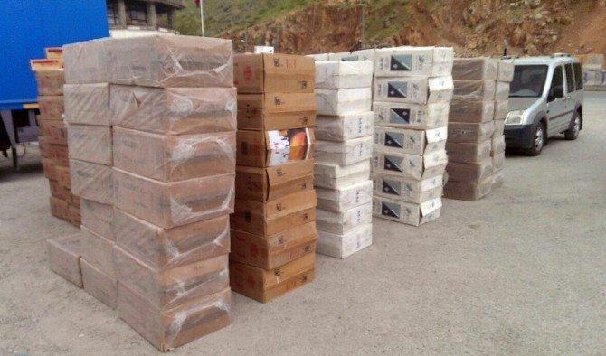 Bitlis'te Uyuşturucu Madde Ve Sigara Ele Geçirildi