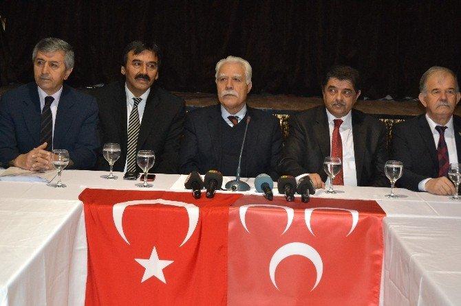 Diriliş Ve İktidara Yürüyüş Hareketinden MHP'ye Olağanüstü Kurultay Çağrısı