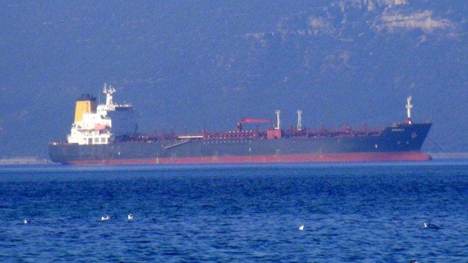 Çanakkale Boğazı'nda bir tanker arızalandı