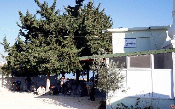 Erdemli Belediyesi, Camilere Hizmete Devam Ediyor