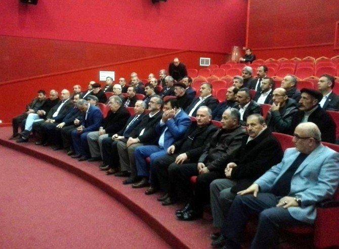 Fatsa'da SYDV Mütevelli Heyeti Muhtarlık Seçimi