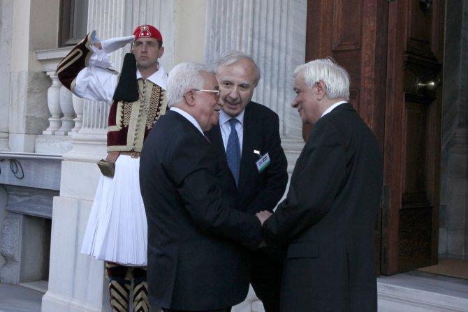 Yunanistan, Abbas'ın ziyaretinde Filistin'i tanıyacak
