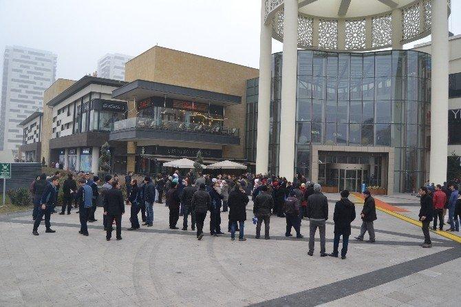Forum Kayseri AVM'de Yangın Tatbikatı