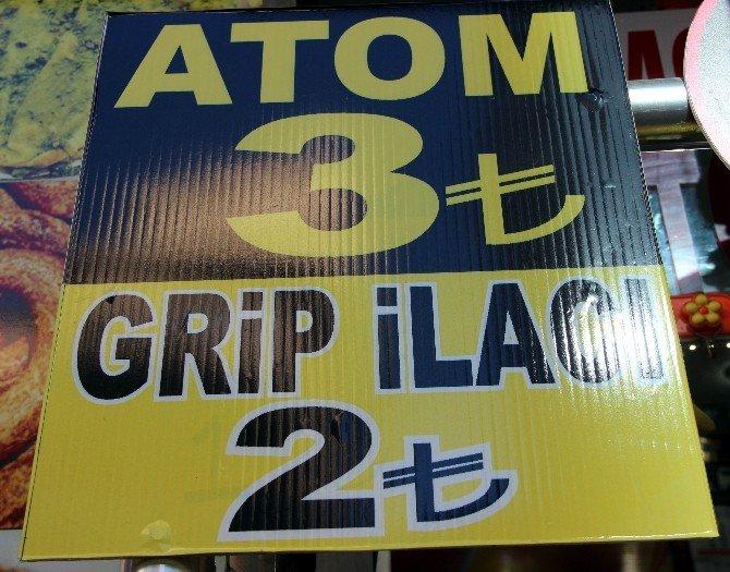 Doğal Grip İlacı 'Atom'