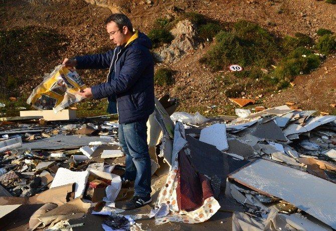 Gebze'de Kaçak Atığa Ceza Kesildi