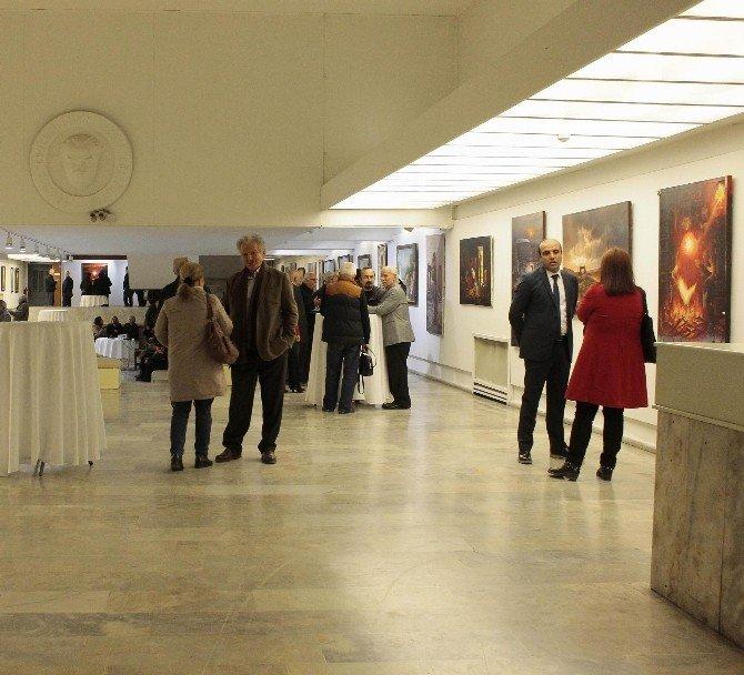Haliliye Belediyesi'nden İzmir'de Resim Sergisi