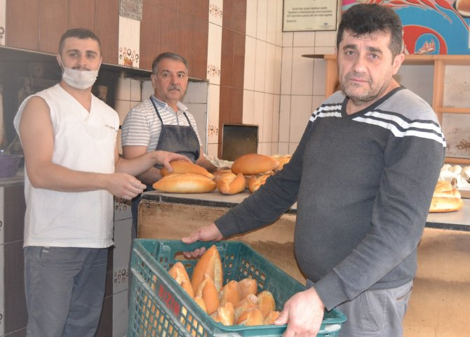Havza'da ekmeğe 25 kuruş zam