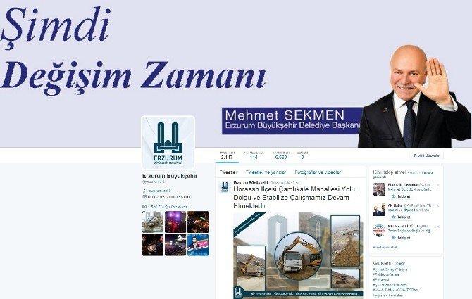 Erzurum Büyükşehir Belediyesi, İnternette Türkiye Birincisi Oldu