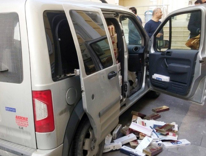 Kahramanmaraş'ta 22 Bin Paket Kaçak Sigara Ele Geçirildi