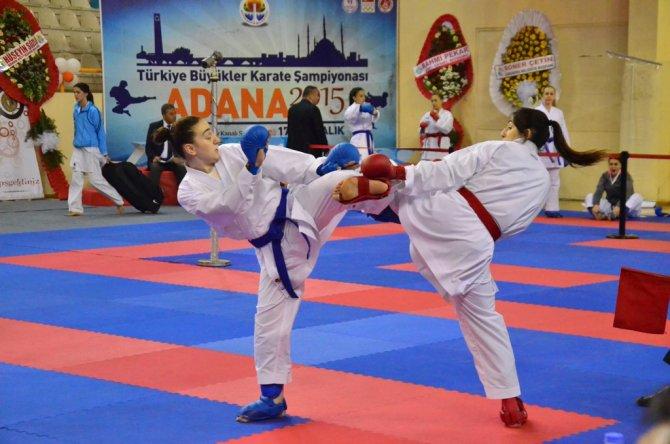 Türkiye Büyükler ve Veteranlar Karate Şampiyonası tamamlandı