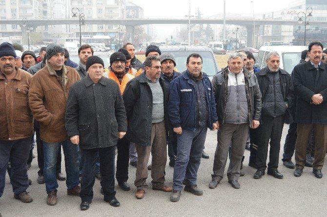 Demiryol-iş Sendikası Kayseri Şube Başkanı Yakup Aslan: