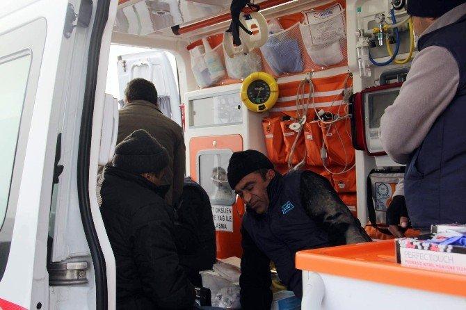 Kayseri'de Servis Minibüsü Devrildi: 10 Yaralı