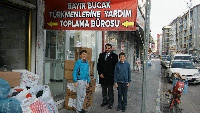 Beyşehir'de Bayır-bucak Türkmenleri'ne Yardım Seferberliği