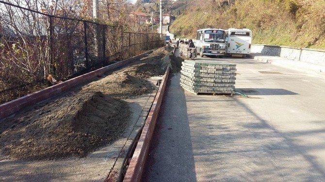 Kozlu Belediyesinin Işıklandırma Çalışmaları Sürüyor