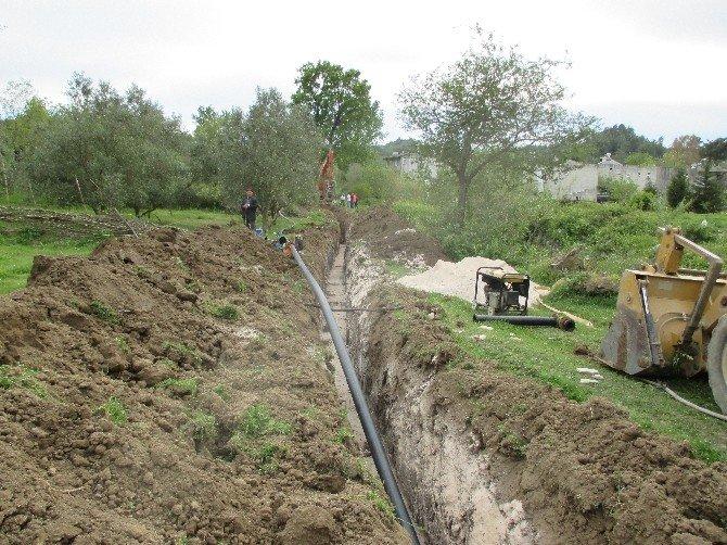 Manavgat Belenobası Sulama İnşaatı Tamamlandı