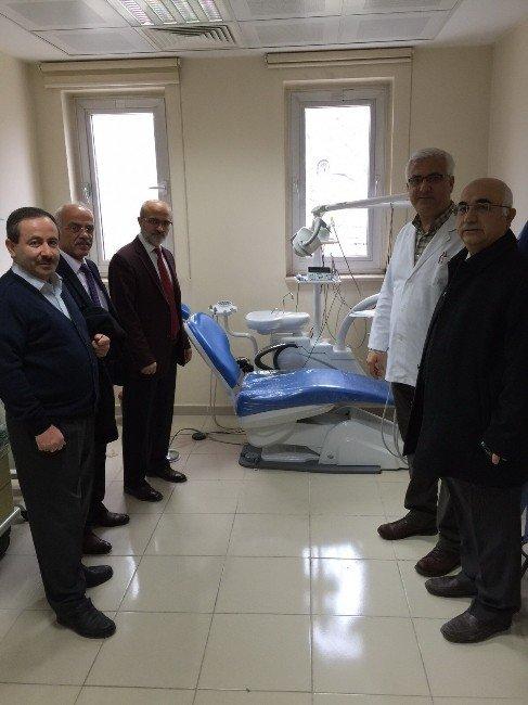 Amasya Ağız Ve Diş Sağlığı Merkezi'nde Diş Üniteleri Yenilendi