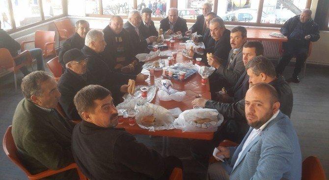 İl Genel Meclis Başkanı Serkan Yıldırım Geleneği Bozmadı