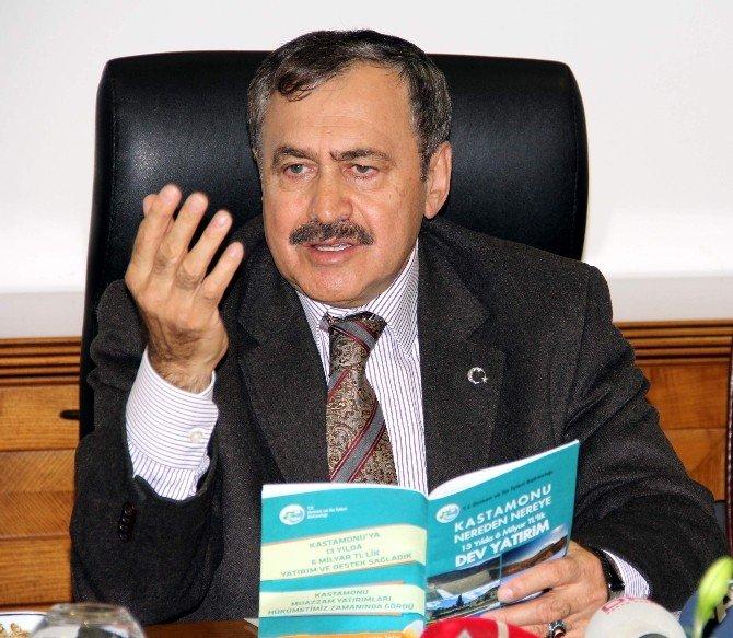 Başbakan Ahmet Davutoğlu'nun Hizmete Alacağı Eserlerden Kastamonu Da Payını Alacak