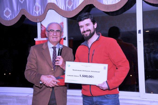 'Kızılırmak Deltasını Anlatmak' adlı yarışmada dereceye girenler ödüllendirildi