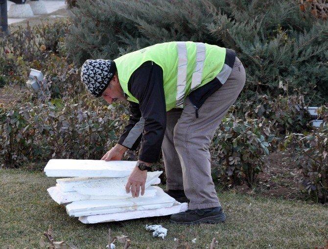 Sivas'ta Şüpheli Kutu Fünye İle Patlatıldı