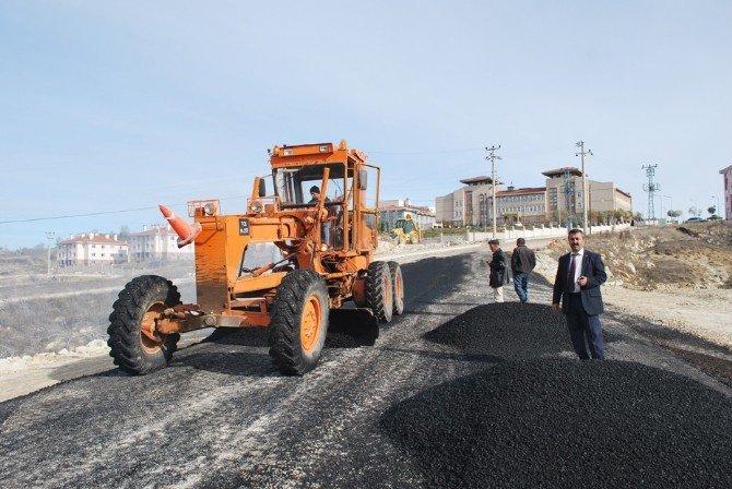 Başkan Cavit Erdoğan: TOKİ Yolunun Asfaltlama Çalışması Tamamlandı