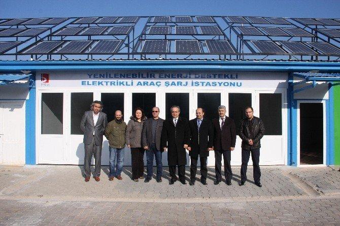 Bilecik Şeyh Edebali Üniversitesi'ne Elektrikli Araçlar İçin Hızlı Şarj İstasyonu Kuruluyor