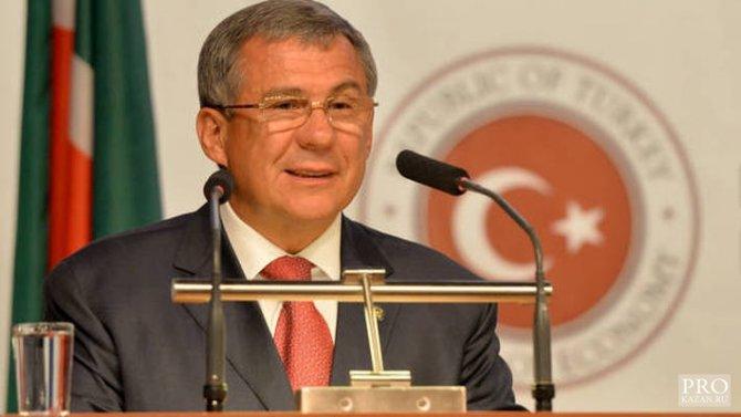 Tataristan Cumhurbaşkanı: Türkiye Rusya'nın dost halkı, bizim ise kardeşimiz