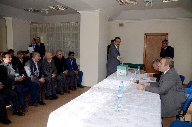 Sarıkamış'ta SYDV Mütevelli Heyeti Seçimleri Yapıldı
