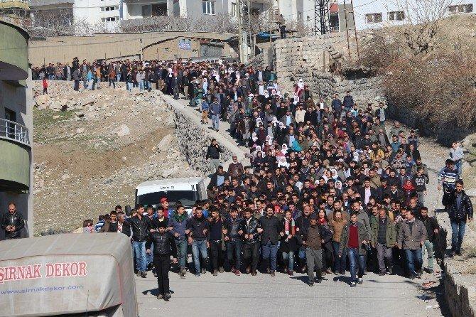 Şırnak'ta Olaylar Çıktı
