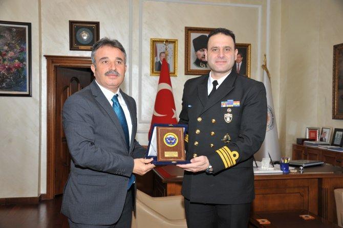 TCG Yıldıray denizaltısı Samsun'da