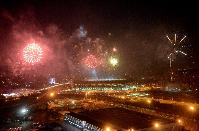 Bursaspor'un Yeni Stadını Cumhurbaşkanı Erdoğan Açtı