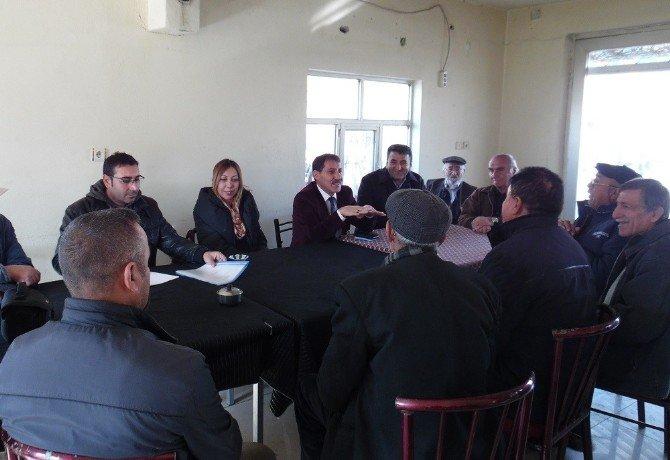 Tunceli'de Sulama Kooperatifi Kurma Çalışmaları