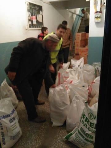 Türkmen Ailelere Yardım