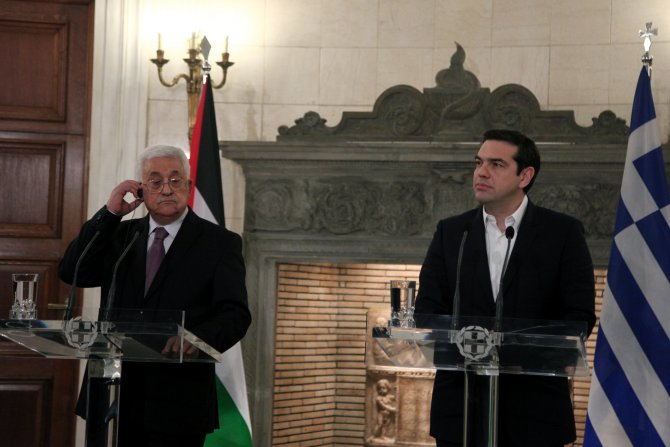 Çipras: Yunan Parlamentosu 'Filistin'i tanıyacak