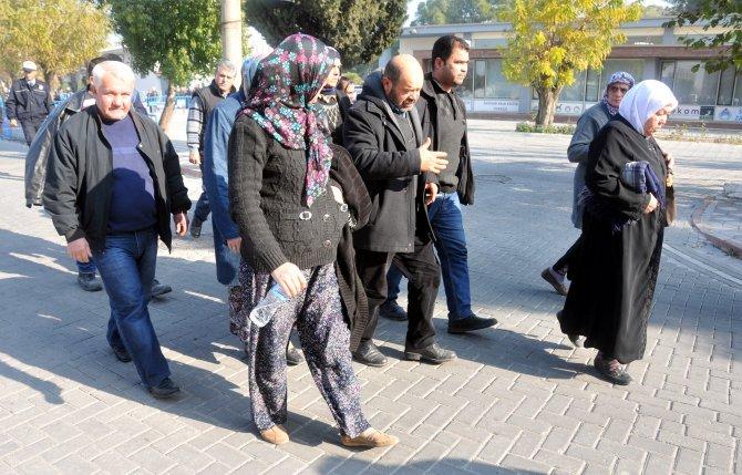 Emniyetçi Basılkan: Kurtarma çalışması sırasında talise elbisesi giymedim