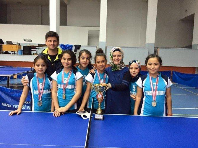 Antalya Masa Tenisi Kızlar Müsabakaları Sona Erdi