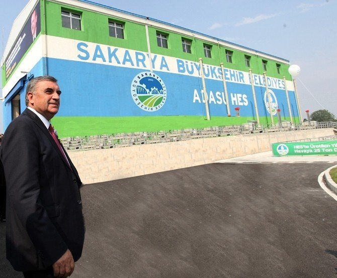 Adasu Hes Sakarya'ya 12 Milyon Kazandırdı