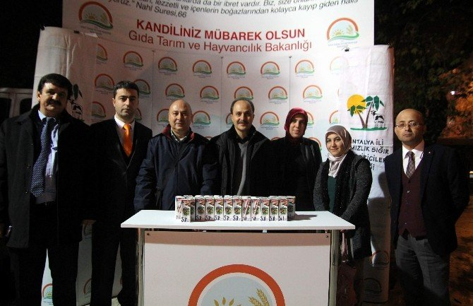 Mevlid Kandili Antalya'da Camileri Doldurdu