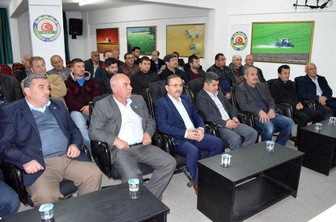 Bafra'da Çeltik Üreticilerine Seminer