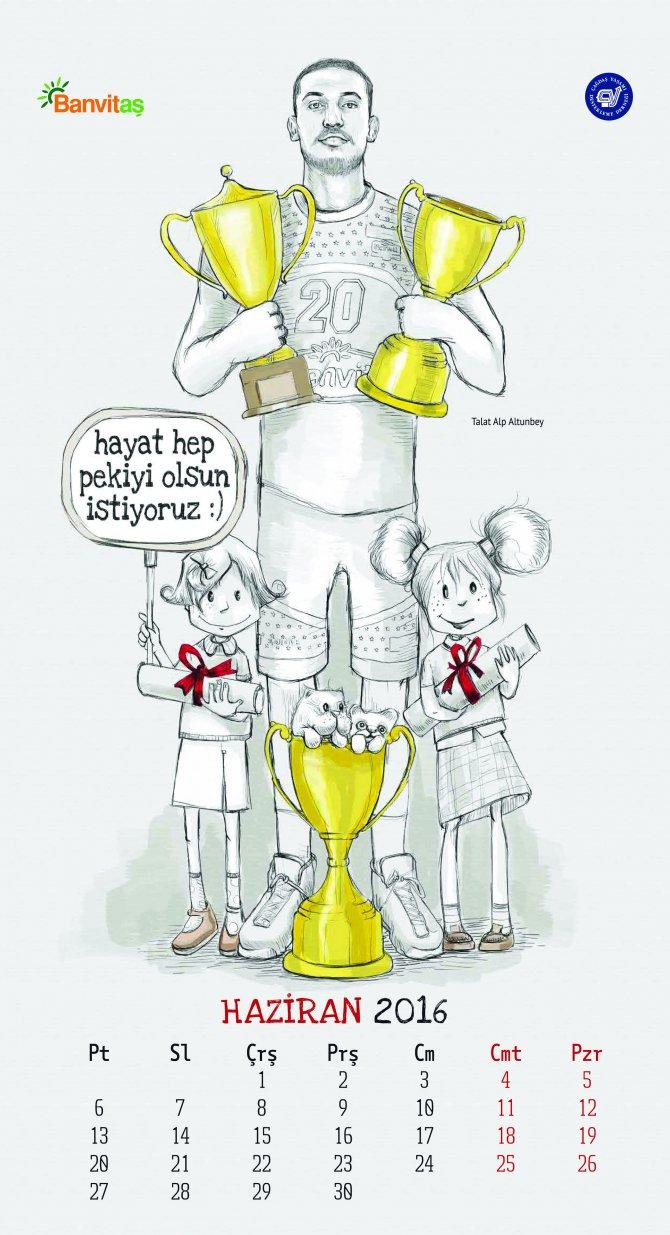 Banvit Basketbol Kulübü, 'Kızlar Banvit'le Okula' takvimini satışa sundu