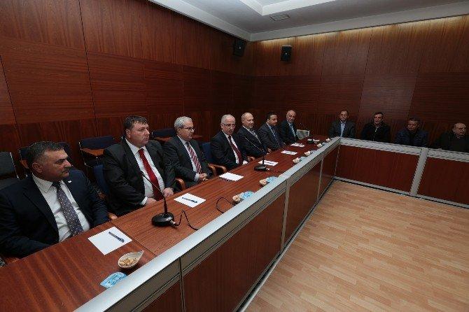 Beylikova Tarıma Dayalı İhtisas Besi Organize Sanayi Bölgesi Toplantısı