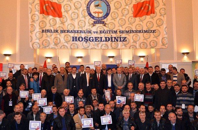 Ankara Oto Sanatkarları Esnaf Odası Başkanı Arslanoğlu: