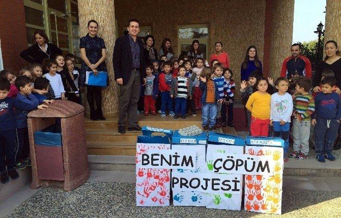 Bodrum'da Miniklere Geri Kazanım Semineri