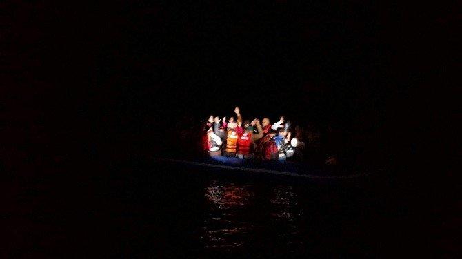 Antalya'da 43 Göçmen Kurtarıldı