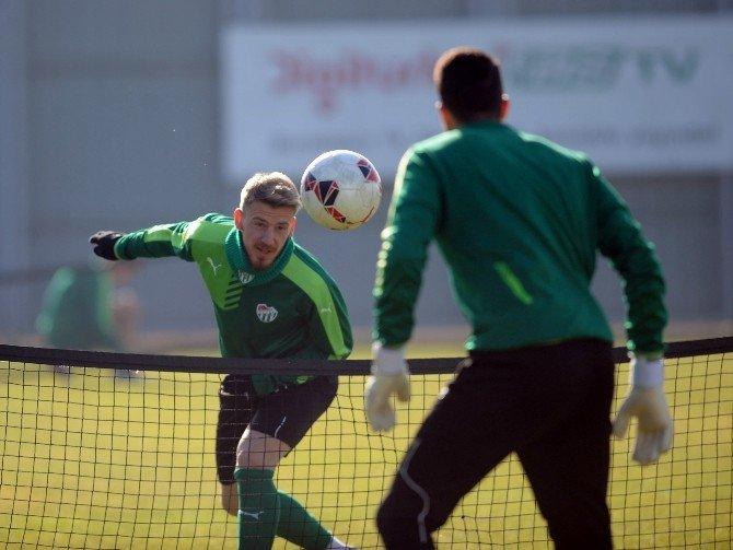 Bursaspor'da Eskişehirspor Maçı Hazırlıkları Sürüyor