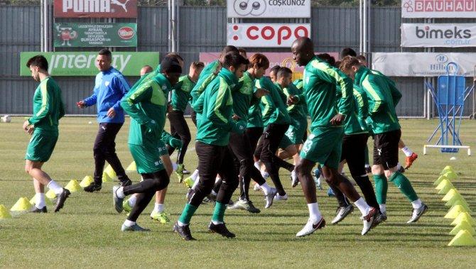 Bursaspor tempo artırdı